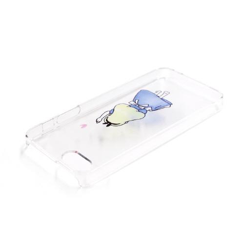 iPhone SE クリアケース カバー Dparks ファンタジー お姫様 アリス (ディーパークス) アイフォン カバー se/5s/5用 iPhone SE/5s/5 バータイプ