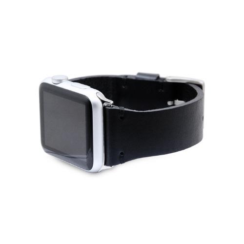 Apple Watch バンド アップルウォッチ Series 1/ 2/ 3 (42mm)、Series 4/ 5 (44mm)対応 SLG Design ブッテーロレザー 本革 アップルウォッチ ベルト Apple watch 本革ベルト レザー ベルト 交換バンド 革 女性 男性 男女兼用 腕時計バンド 連結器付 ベルト