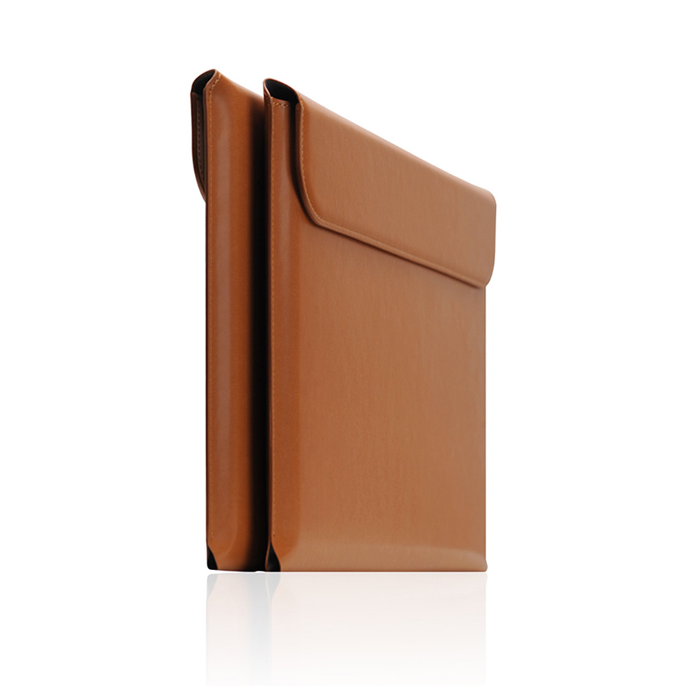MacBook Air 13インチ / MacBook Pro 13インチ 対応 ケース SLG Design レザー ポーチ マックブック 保護カバー