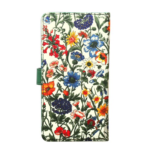 スマホケース 手帳型 スライド式 多機種対応 マルチケース ZENUS Liberty Diary(ゼヌス リバティダイアリー)Mサイズ Lサイズ 5〜5.5インチまで 縦15cm×幅7.5cmまでのスマホ 縦16cm×幅8cmまでのスマホ