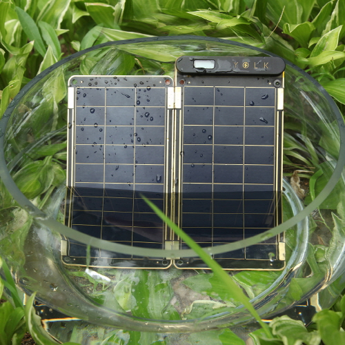YOLK Solar Paper 5Wセット【ポータブル ソーラー充電器 / ソーラーパネル充電器】