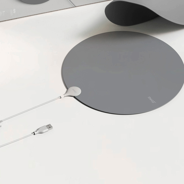 【2020年度モデル】厚さ1ミリの薄いヒーター USBヒーター INKO Heating Mat Heal(インコ ヒーティングマット ヒール)インクで温める 電磁波ゼロ 携帯ヒーター ホットマット ひざ掛け 1人用 厚さ1� 【送料無料】