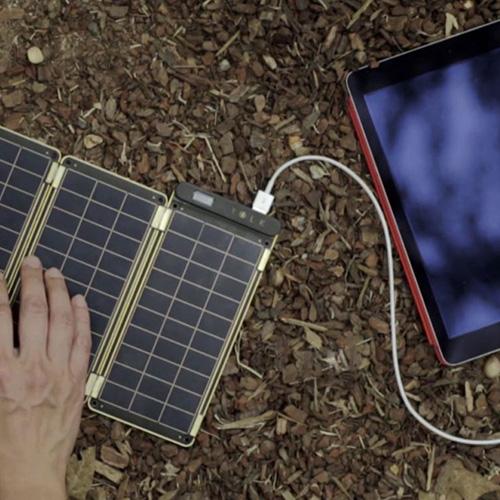 ソーラー充電器 YOLK Solar Paper(ヨーク ソーラーペーパー)10Wセット ソーラーチャージャー