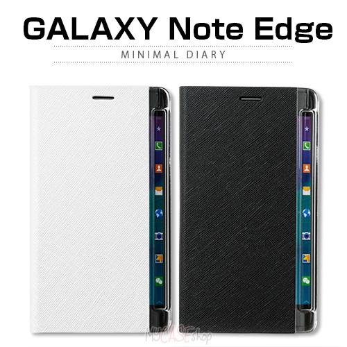 【GALAXY Note Edge ケース】ZENUS Minimal Diary(ゼヌス ミニマルダイアリー)