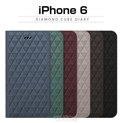 iPhone6s/6 ケース araree Diamond Cube Diary(アラリー ダイアモンドキューブダイアリー) アイフォン