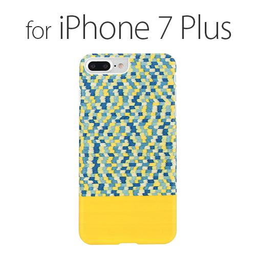 iPhone 8 Plus / 7 Plus天然木ケース Man & Wood Yellow Submarine (マンアンドウッド イエローサブマリン)アイフォン カバー 木製