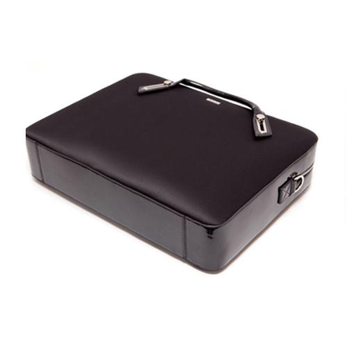 B6306BK ミッシェル・サテンブリーフケース L (17インチ) - ブラック