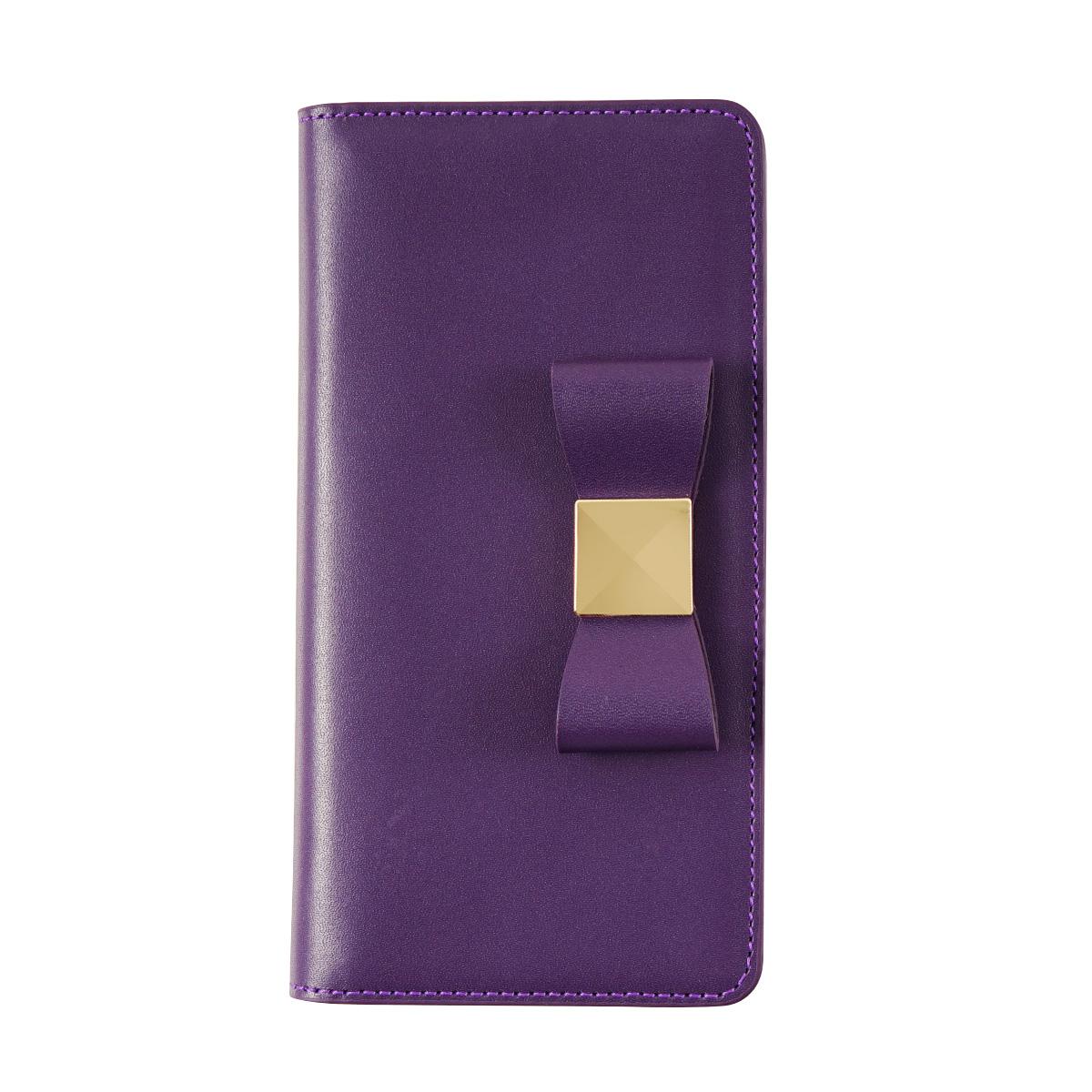 iPhone XS / X ケース iPhone XR ケース LAYBLOCK Ribbon Classic Diary 手帳型 本革 (レイブロック リボンクラシックダイアリー)アイフォン レザー カバー