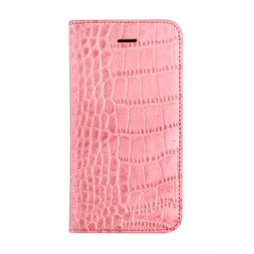iPhone 5/5s ケース GAZE Vivid Croco Diary(ゲイズ ビビッドクロコダイアリー) 天然牛革,クロコ型押し,本革 手帳型 ポケット