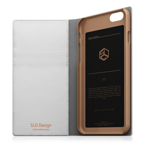 iPhone6s/6 ケース SLG Design D5 Saffiano Calf Skin Leather Diary(エスエルジ—デザイン D5 サフィアーノカーフスキンレザーダイアリー)アイフォン