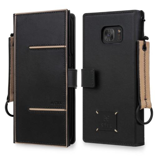 Galaxy S7 edge ケース 手帳型 STI:L AGNES(スティール アグネス)ギャラクシー エスセブン エッジ お財布ケース