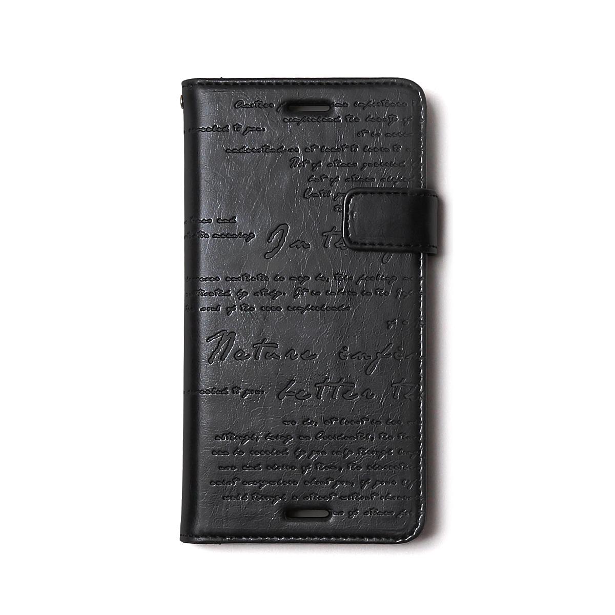 Xperia X Performance ケース 手帳型 ZENUS Lettering Diary(ゼヌス レタリングダイアリー)エクスペリア エックス パフォーマンス SO-04H SOV33 502SO カバー