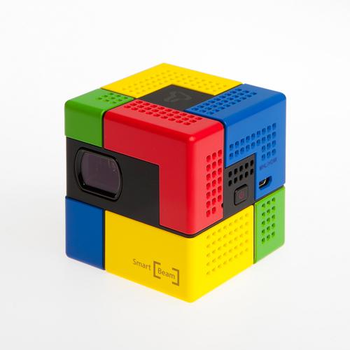 ポイント10倍 送料無料 Smart Beam Art(スマートビーム アート)スマホ向け超小型軽量モバイルプロジェクター  三脚付 HDMI/MHL 小型ビーム バッテリー内蔵
