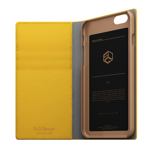 iPhone6s/6 ケース SLG Design D5 Calf Skin Leather Diary(エスエルジ—デザイン D5 カーフスキンレザーダイアリー)アイフォン