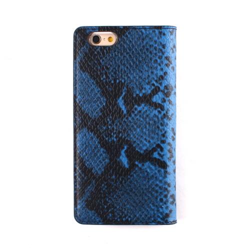 iPhone6s ケース 手帳型 GAZE Blue Python Diary(ゲイズ ブルーパイソンダイアリー)アイフォン iPhone6