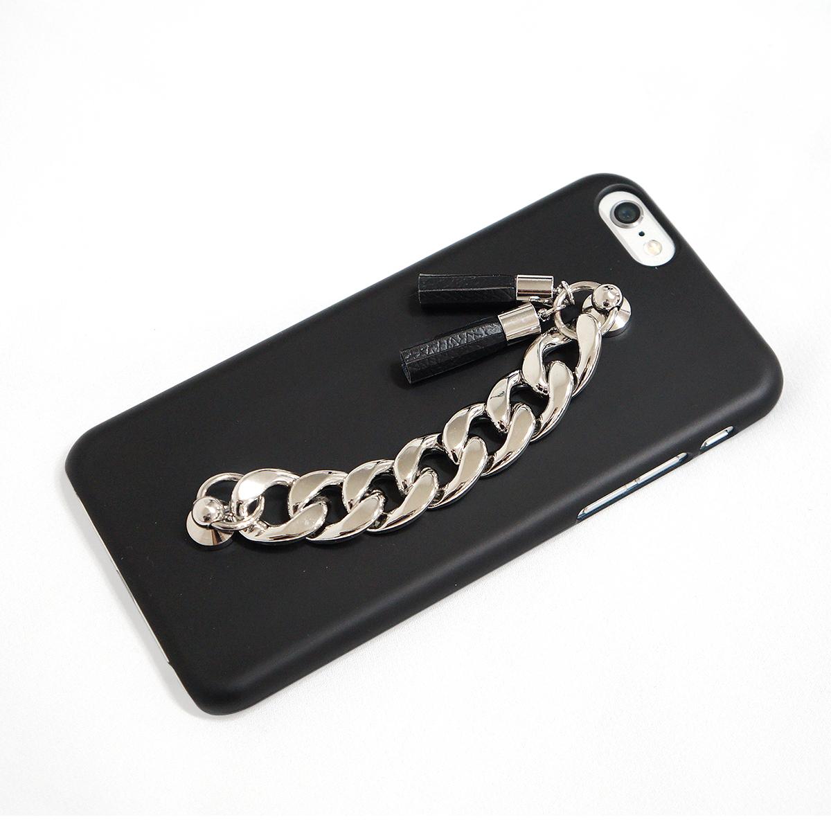 iPhone6s/6 ケース チェーン&タッセル カバーmidnight moment x abbi (ミッドナイトモーメント アビィ)アイフォン