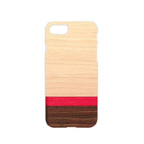 【iPhone SE 第2世代 (SE2) / 8 / 7 ケース】Man&Wood Rosewash【木製(ウッド)ケース】