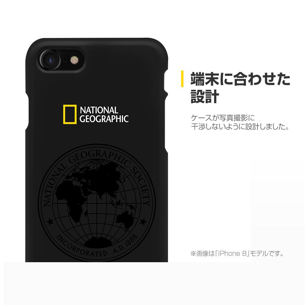 iPhone SE 第2世代 se2 ケース iPhone XR ケース iPhone 8/7ケース National Geographic 130th Anniversary case Slim Fit(ナショナル ジオグラフィック 130周年 アニバーサリーケース スリムフィット)アイフォン カバー スマホケース ナショジオ