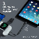 【ワイヤレス充電器】 4 in 1 AirPods iPhone Apple Watch iPad 同時充電 All-in-1 for Apple 10,000mAh 無線モバイルバッテリー AirAlly(エアーアリー)
