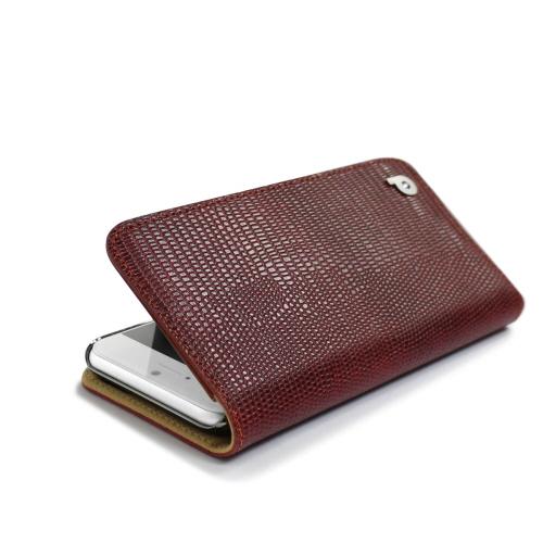 iPhone6s/6 ケース Dreamplus Cleo Lizard Diary(クレオリザードダイアリー)アイフォン