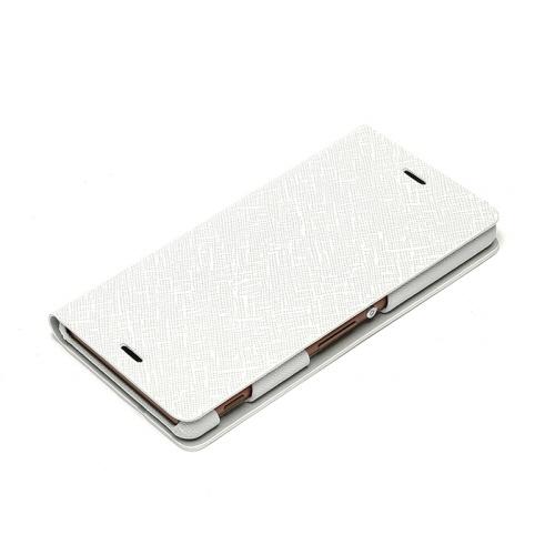 docomo au softbank【Xperia Z3 ケース】ZENUS Minimal Diary (ミニマルダイアリー)White,Black,Purple