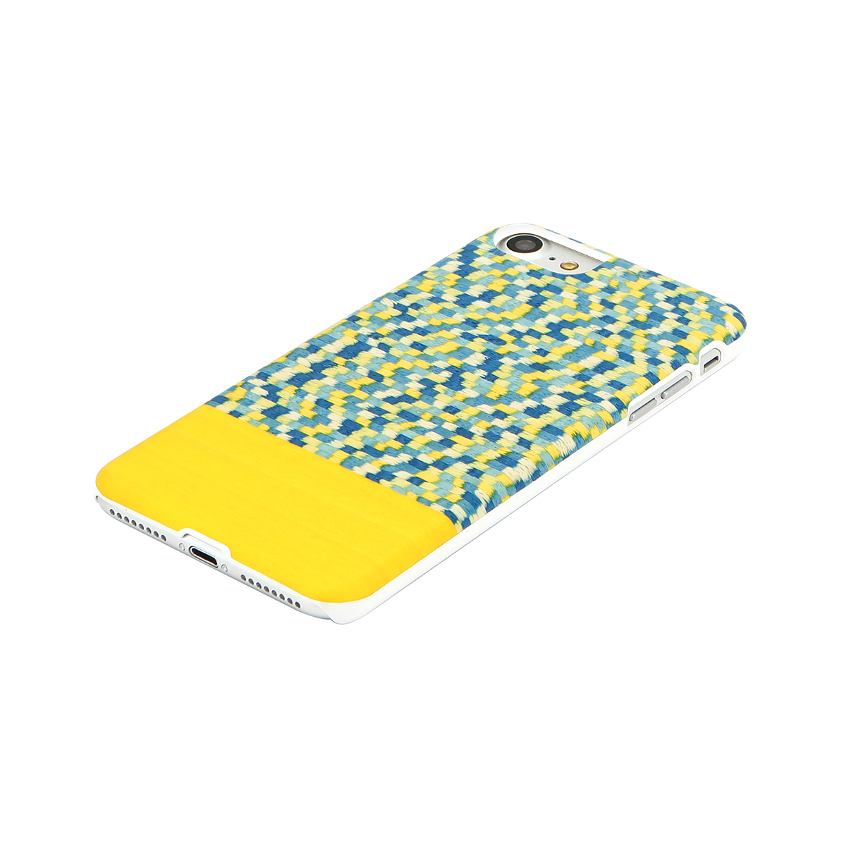 iPhone SE 第2世代 se2 ケース iPhone 8/7ケース 天然木 Man&Wood Yellow Submarine(マンアンドウッド イエローサブマリン)アイフォン カバー 木製