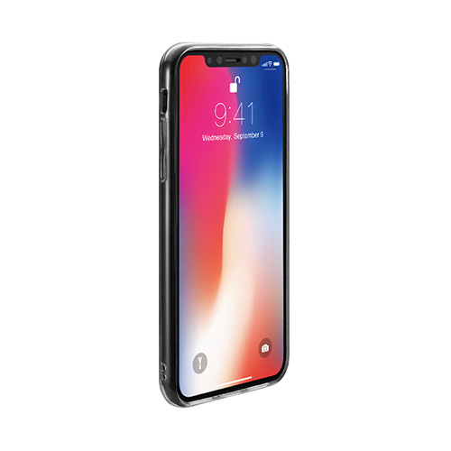 iPhone Xケース Just Mobile TENC(ジャストモバイル テンク)アイフォン カバー クリア 透明 自己修復5インチ
