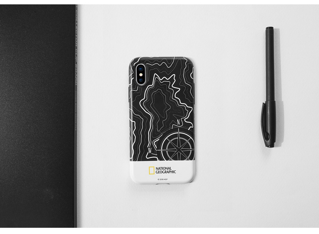 iPhone SE 第2世代 se2 ケース iPhone 11 Pro /  iPhone 11 ケース iPhone XS/X ケースiPhone8 ケース iPhone7 ケース カバー iPhone8Plus iPhone7Plus ケース National Geographic Topography Case Double Protective