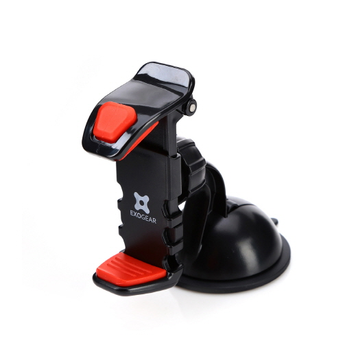 車載ホルダー スマートフォンホルダー EXOGEAR ExoMount Ultra(エクソギア エクソマウント ウルトラ)グリップ式 スマホスタンド 吸着タイプ