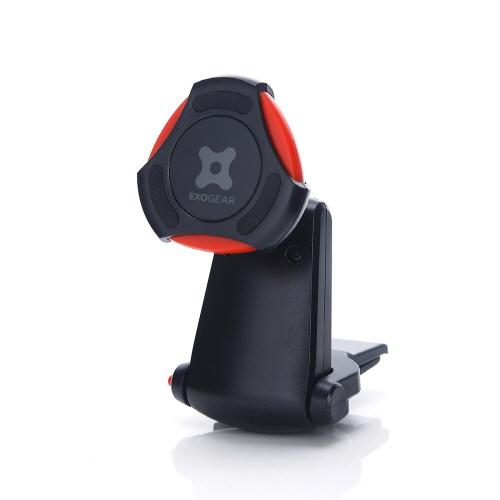 車載ホルダー スマートフォンホルダー EXOGEAR ExoMount Magnet Air(エクソギア エクソマウント マグネット エアー)マグネット式 スマホスタンド エアコン吹き出し口タイプ