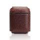 AirPods ケース カバー 本革 収納ケース SLG Design Minerva Box Leather Case エアーポッズ ミネルバボックス レザーケース Apple ワイヤレスイヤホン airPods専用 Apple AirPods2 第2世代 収納可能 ワイヤレス充電対応