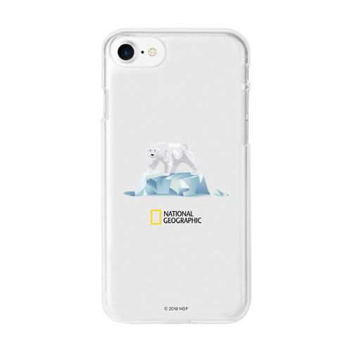 iPhone SE 第2世代 se2 ケース iPhone 8 / 7 ケース National Geographic Icebergs Case Jelly(ナショナル ジオグラフィック アイスバーグケース ゼリー)アイフォン カバー スマホケース ナショジオ
