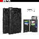 スマホケース 手帳型 クリアケースセット スライド式 HANSMARE CROCO DOUBLE FLIP CASE(ハンスマレ クロコダブルフリップケース)