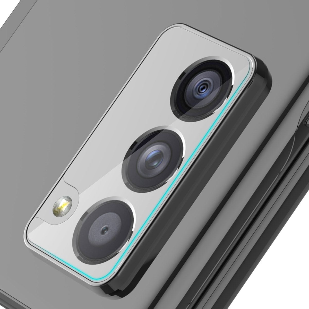 araree C-SUB CORE【Galaxy Z Fold2 5G カメラ専用 強化ガラスフィルム】 硬度9H スクラッチ防止 ガラスフィルム SCG05