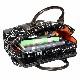 B3501B パソコンバッグ キャリー・プリント・トート ブラック&ホワイト レディスPCバッグ pc バッグ 女性用 新生活