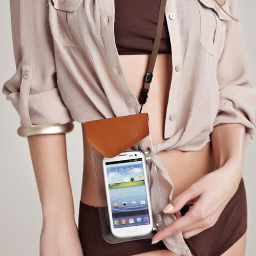 bikit スマートフォン用ファッション防水ポーチ[プレミアム]