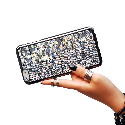 iPhone6s Plus/6 Plus ケース GAZE Hologram Croco Bar(ホログラムクロコバー)アイフォン