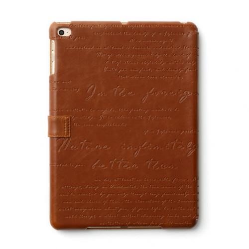 【iPad Air 2 ケース】ZENUS Lettering Diary(ゼヌス レタリングダイアリー)