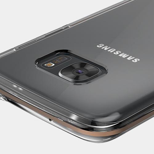 Galaxy S7 edge ケース カバー STI:L HYBRID(スティール ハイブリッド)ギャラクシー エスセブン エッジ クリア