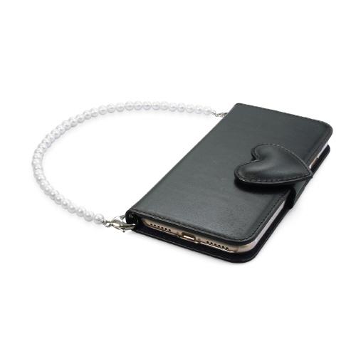 iPhone SE 第2世代 se2 ケース iPhone 8/7ケース 手帳型 abbi Heart Diary(アビィ ハートダイアリー)アイフォン 本革 カバー