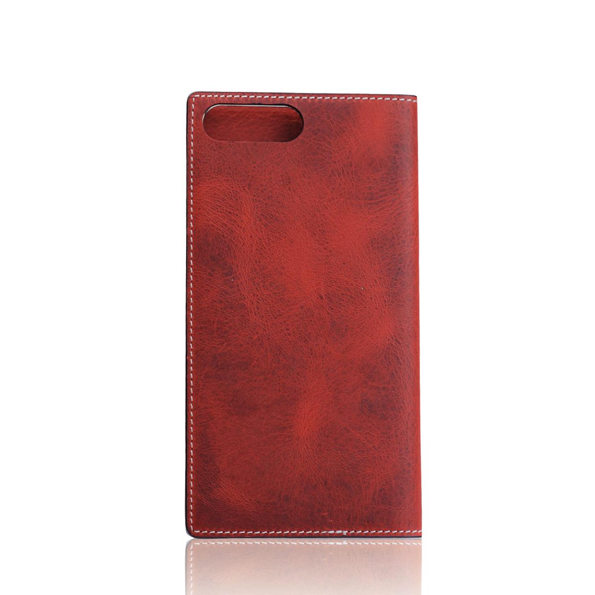 iPhone 8 Plus / 7 Plus ケース 手帳型 SLG Design Badalassi Wax case (エスエルジーデザイン バダラッシーワックスケース)アイフォン 本革 カバー