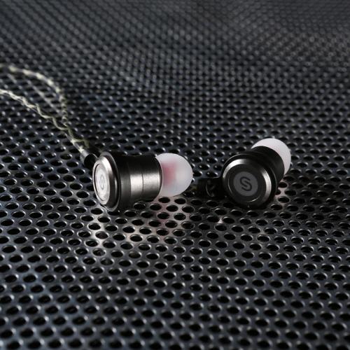 3D ウーファーイヤホン DUALS T3(デュアルス ティースリー)カナル型 デュアルサウンド Woofer earphone 骨伝導