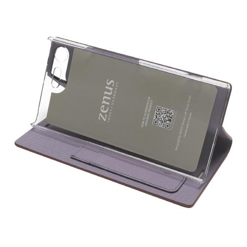 Xperia XZ Premium ケース 手帳型 ZENUS Diana Diary(ゼヌス ダイアナダイアリー)エクスペリア エックスゼット プレミアム カバー SO-04J