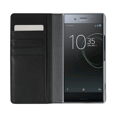 Xperia XZ Premium ケース 本革 手帳型 GAZE Vivid Croco Diary(ゲイズ ビビッドクロコダイアリー)エクスペリア エックスゼット プレミアム カバー SO-04J