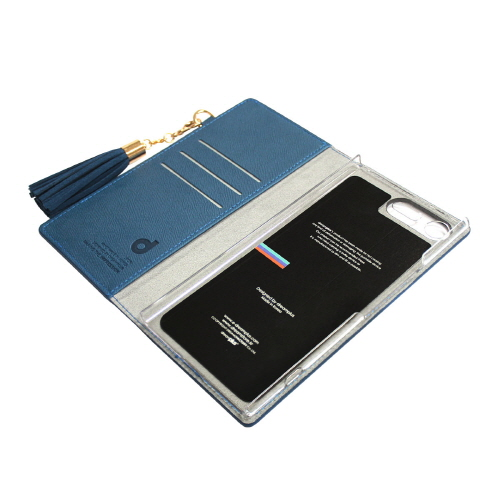 Xperia XZ Premium ケース 手帳型 DreamPlus Tassel Jacket(ドリームプラス タッセルジャケット)エクスペリア エックスゼット プレミアム カバー SO-04J タッセル付き