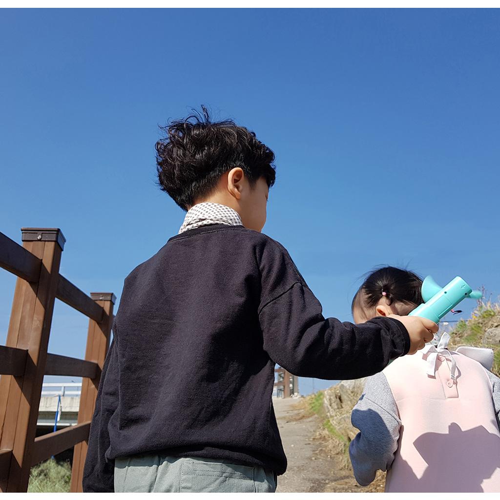 THE FAN 3WAY ポータブル扇風機【ハンディファン/モバイルバッテリー/LEDライトの3way】