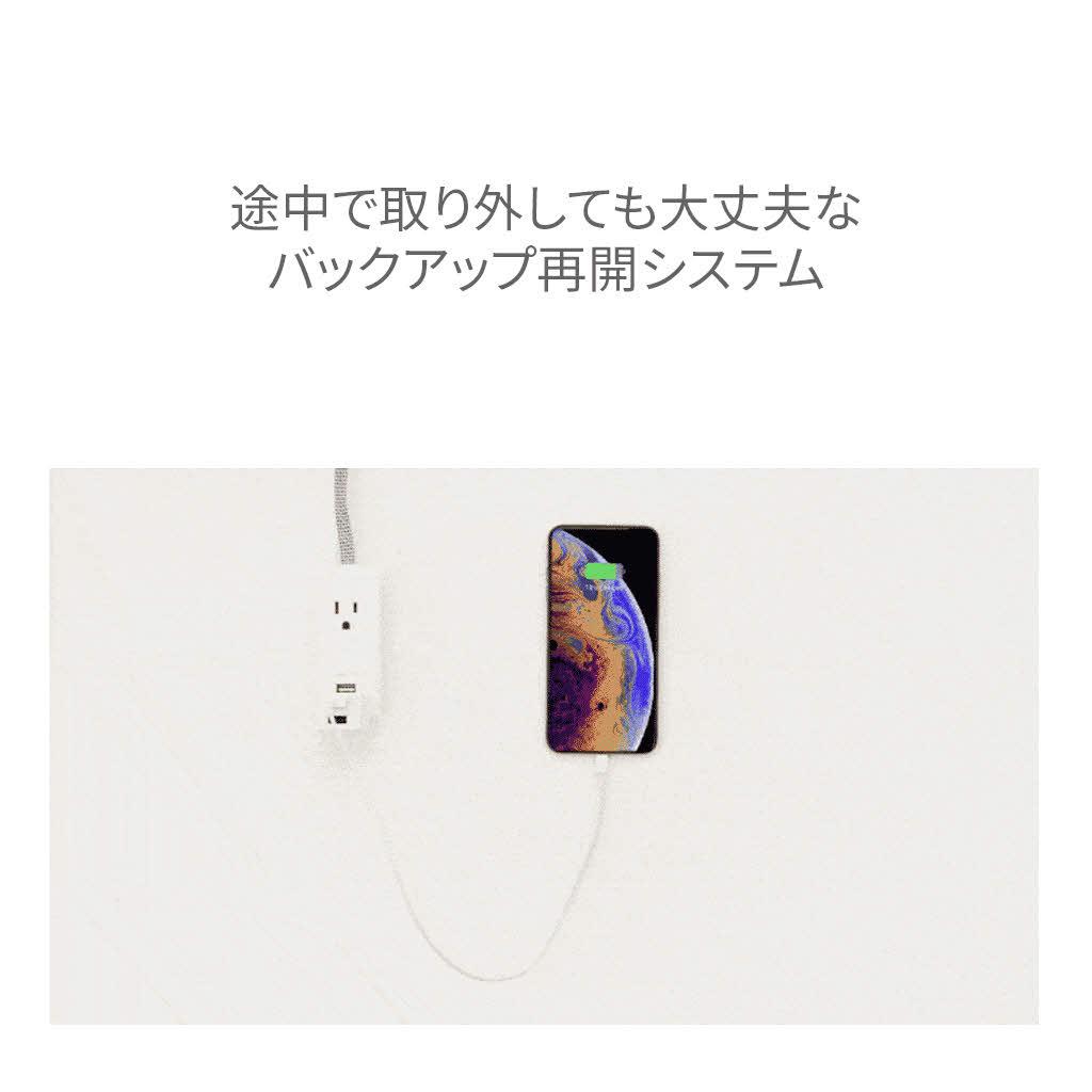 HYPER iOS/Android 自動バックアップ用リーダ Hyper+Cube (ハイパープラスキューブ)  充電しながらバックアップ ・micro SD USBメモリ SSD HDDに対応 PC不要 iPhone iPad 対応