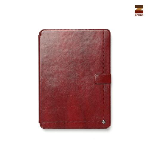 【iPad 9.7インチ 2018 / iPad 9.7インチ 2017 / iPad Air初代 兼用】 ZENUS Masstige Neo Classic Diary スタンド機能付 イタリアン合成皮革