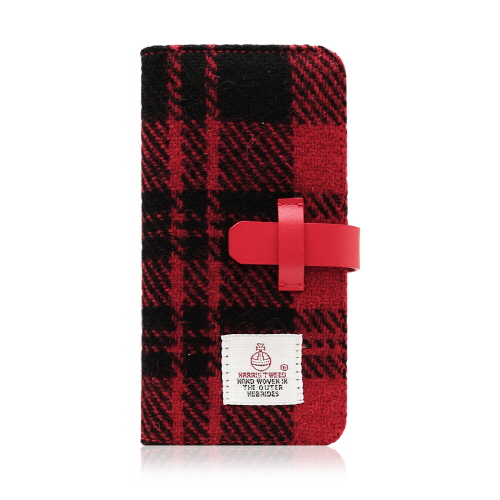 iPhone6s Plus/6 Plus ケース 手帳型 SLG Desig Harris Tweed Diary(エスエルジーデザイン ハリスツイードダイアリー)アイフォン 本革