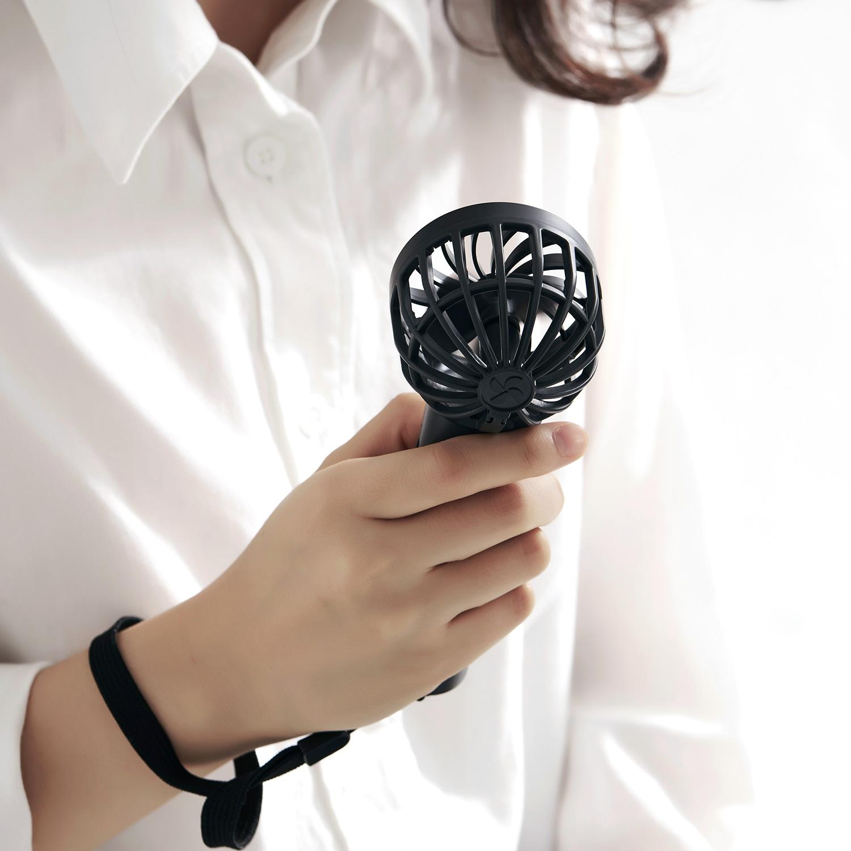 テレビ番組『はやドキ!』で紹介 BLUEFEEL PRO 超小型ヘッド ポータブル扇風機 携帯扇風機 ブルーフィール プロ 最大24時間 ドロンモーター 風速11m/s パワフル風力 ハンディファン モバイルファン モバイル扇風機 ミニ扇風機